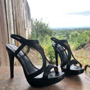 Diane Von Furstenberg Shoes - Diane Von Furstenberg Strappy High Heels
